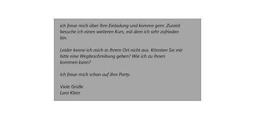 Brief Schreiben Arşivleri Deutsch Lernen