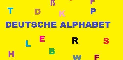 deutsche alphabet tabelle